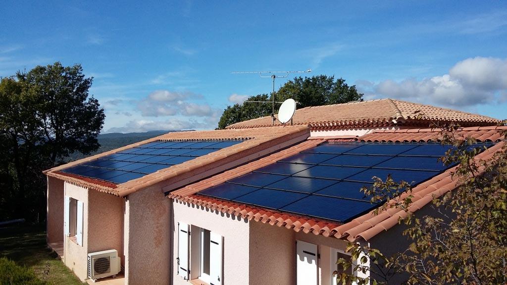 Electricité Solaire photovoltaïque Solrif à Pierrevert 04 Alpes de haute Provence - Région PACA