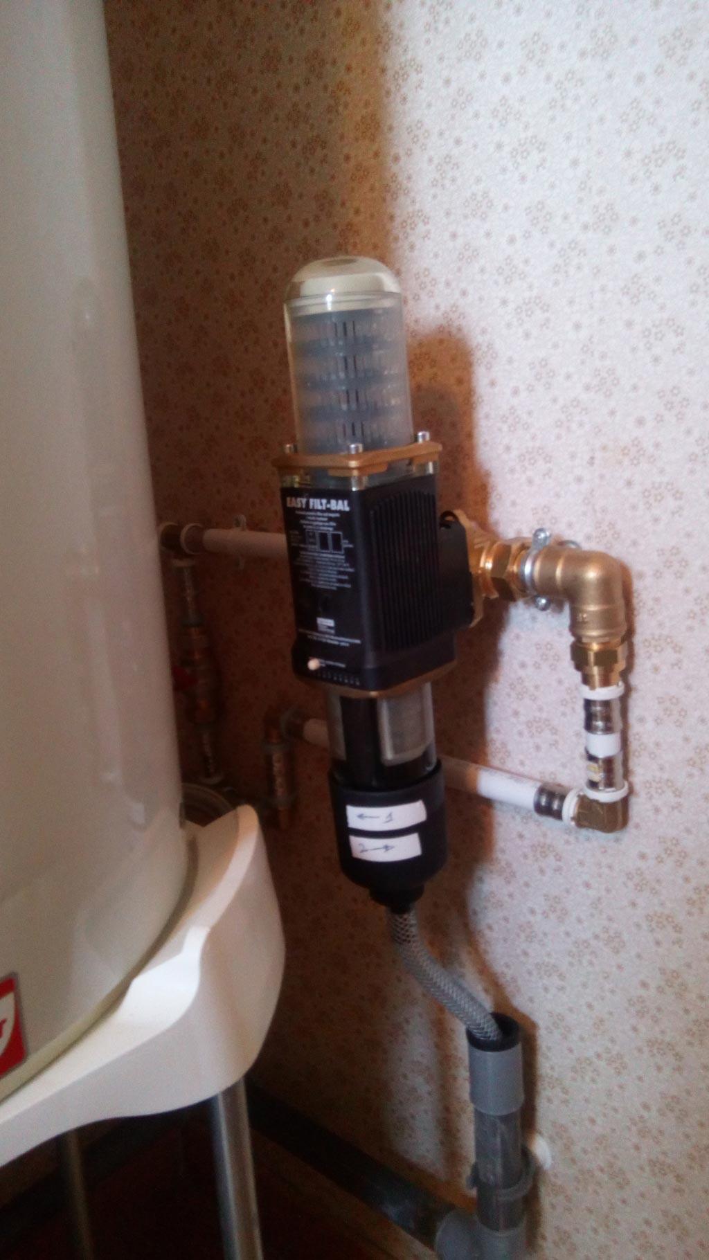 Installation d'un système anti tartre JUDO sans consommable sur un réseau d'eau froide sanitaire-Bouches du Rhône (13)