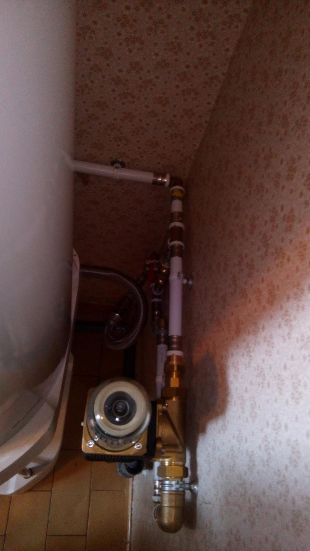 Installation d\'un système anti tartre JUDO sans consommable sur un réseau d\'eau froide sanitaire