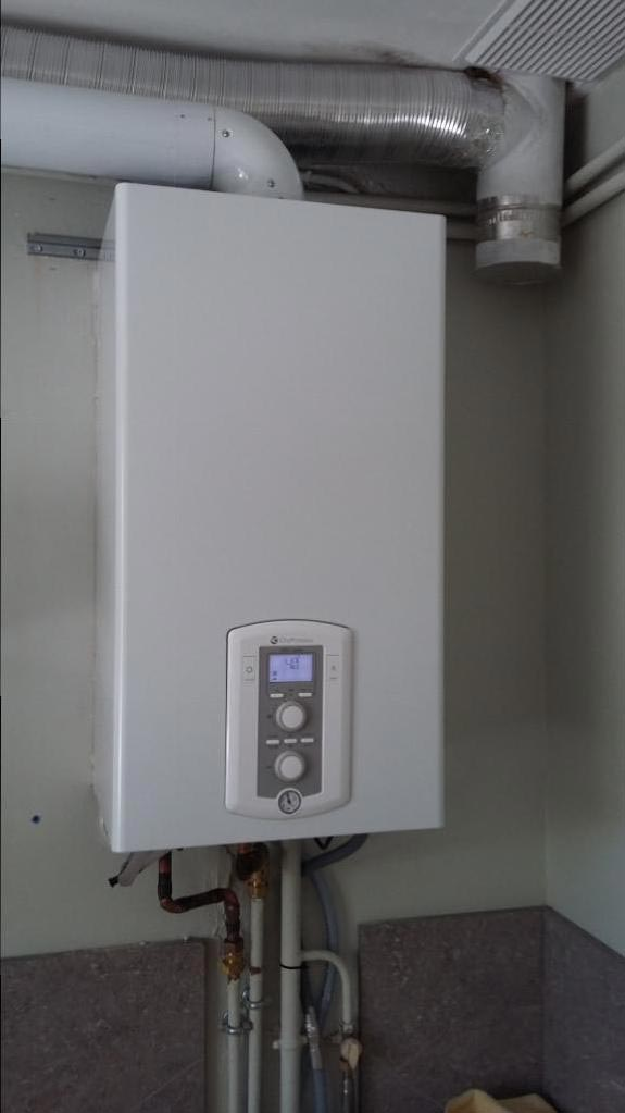 Installation d'une chaudière gaz condensation-Bouches du Rhône (13)