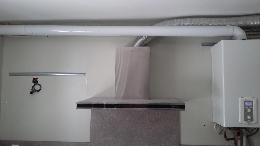 Installation d'une chaudière gaz condensation