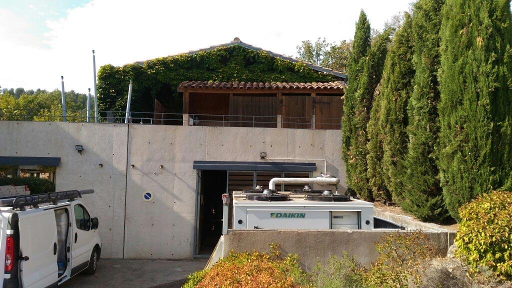 Installation d'une chaudière granulés en remplacement d'une chaudière fuel Ecomusée de la forêt-Bouches du Rhône (13)