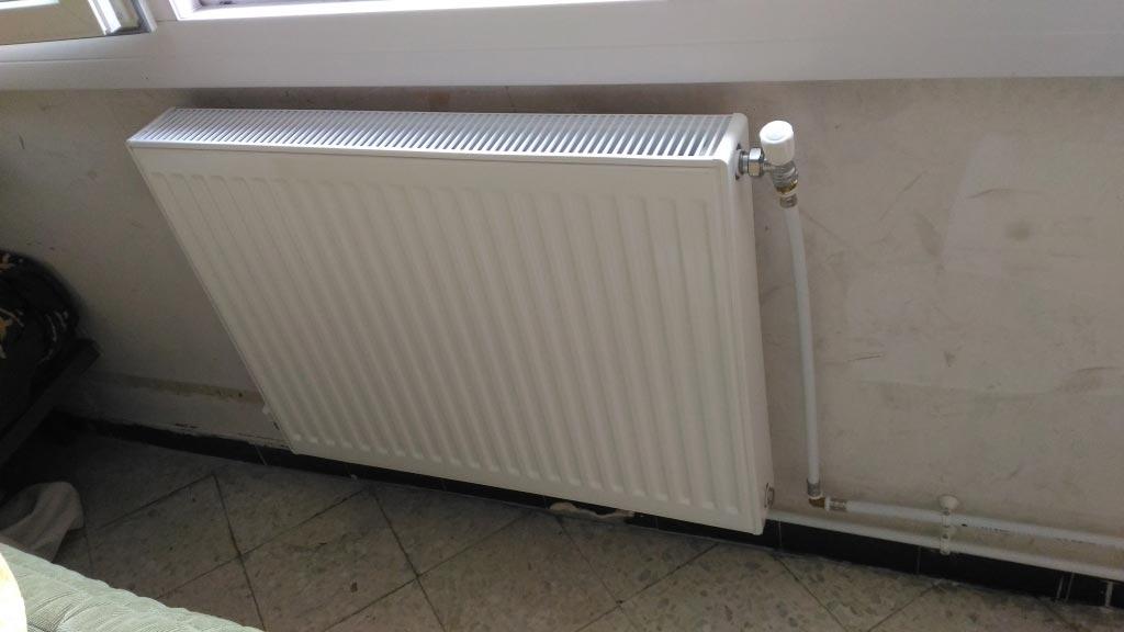 installation d'une chaudière gaz condensation chaffoteaux, création d'un réseau de chauffage central radiateurs acier