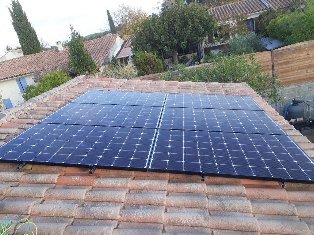 Réalisation d'une installation photovoltaïque 2 kwc en autoconsommation et vente du surplus