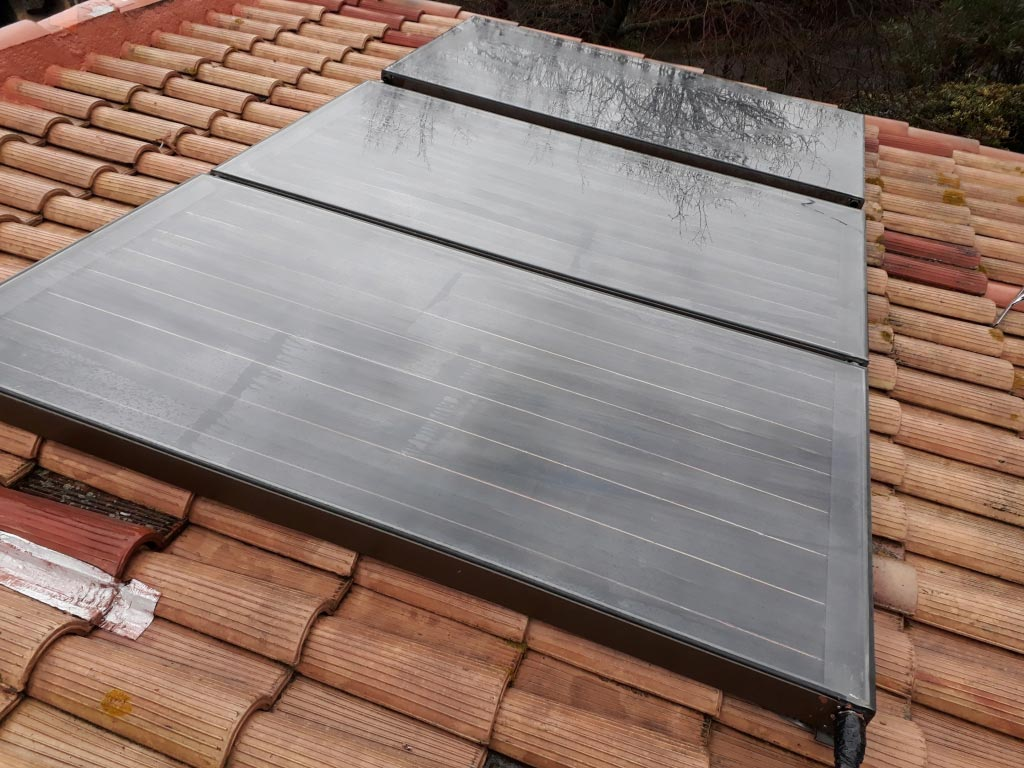 Révision complète et amélioration d'un chauffe-eau solaire GIORDANO-Bouches du Rhône (13)