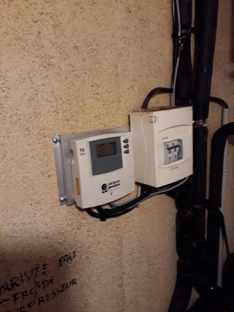 Révision complète et amélioration d'un chauffe-eau solaire GIORDANO