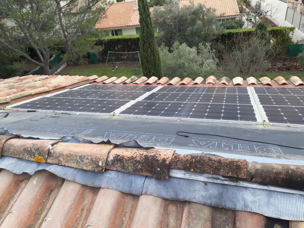 Reprise d'une installation photovoltaïque 2.7 kwc en vente totale-Bouches du Rhône (13)