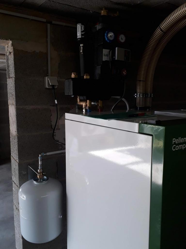 installation d'une chaudière à granulés compact OKOFEN-Bouches du Rhône (13)