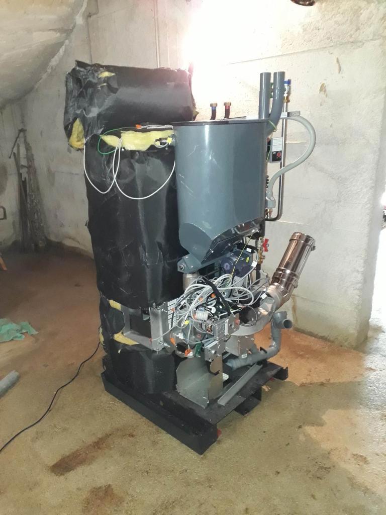 installation d'une chaudière à granulés SMART XS OKOFEN-Bouches du Rhône (13)