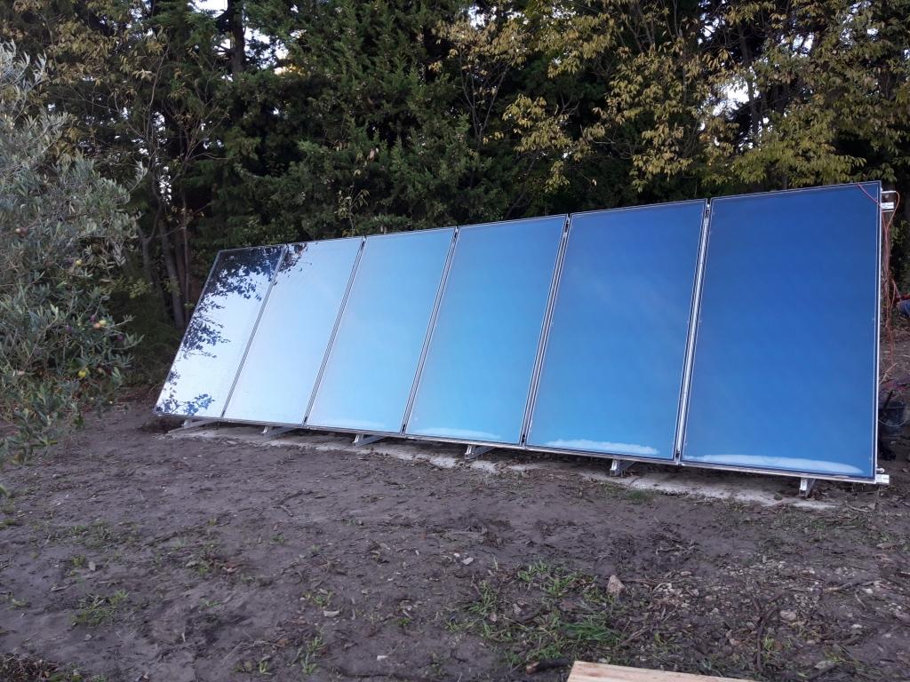 Installation d'un système solaire combiné (SSC)
