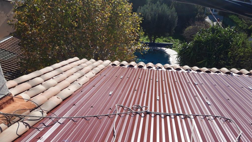Réfection d'une installation solaire photovoltaïque-Var (83)