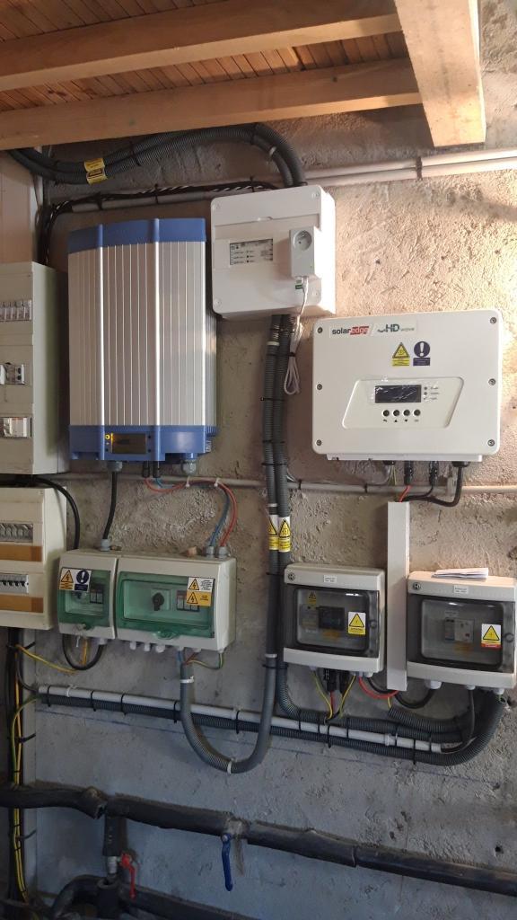 Réalisation d'une installation photovoltaïque en auto-consommation de 2,7kwc-Bouches du Rhône (13)