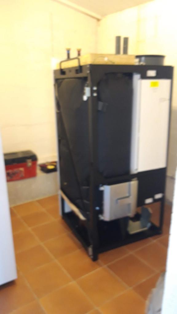 installation d'un chaudière à granulés (pellets) COMPACT OKOFEN-Bouches du Rhône (13)