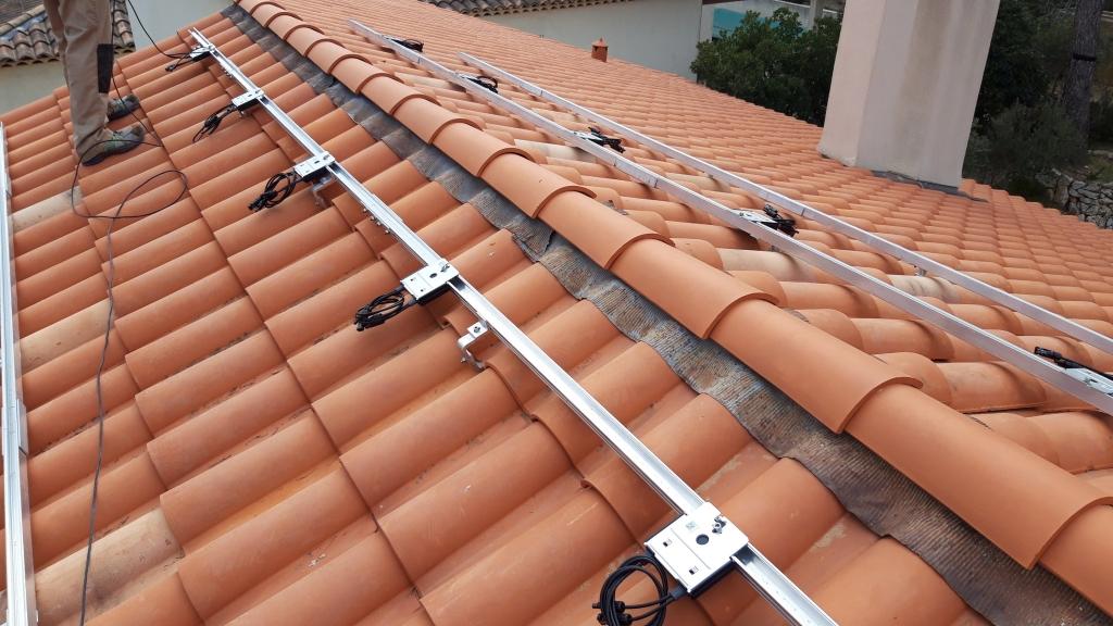 Réalisation d'une installation photovoltaïque en auto-consommation de 2,8Kwc-Bouches du Rhône (13)