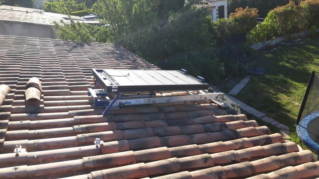 Réalisation d'une installation solaire hybride en auto-consommation de 2.8 Kwc-Bouches du Rhône (13)