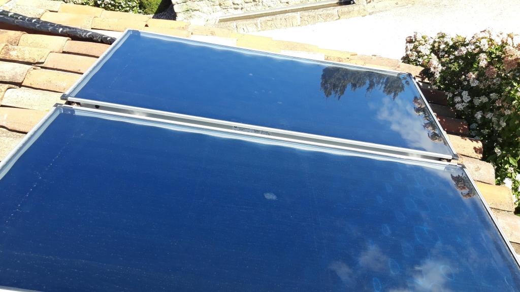 Remplacement d'une chaudière propane par chaudière mixte gaz-solaire chauffage et eau chaude sanitaire-Vaucluse (84)