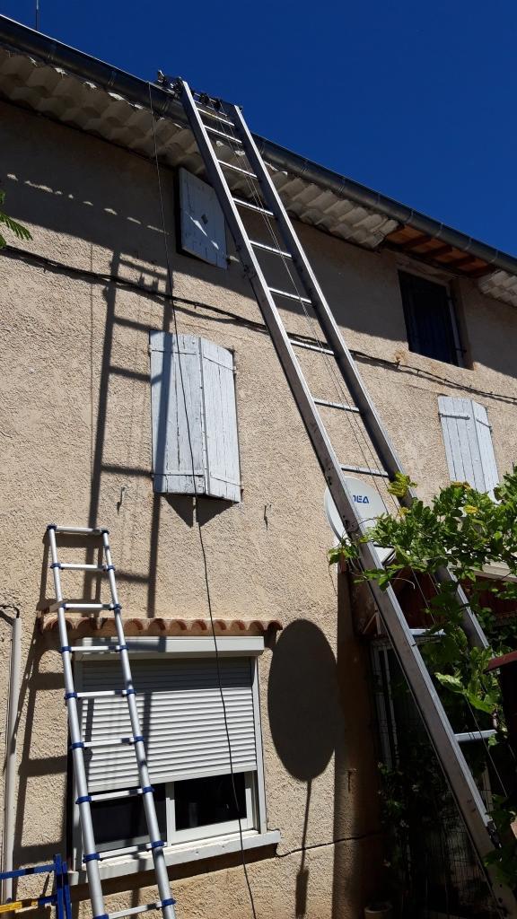 Réfection d'une installations photovoltaïque 3kwc défaillante-Bouches du Rhône (13)