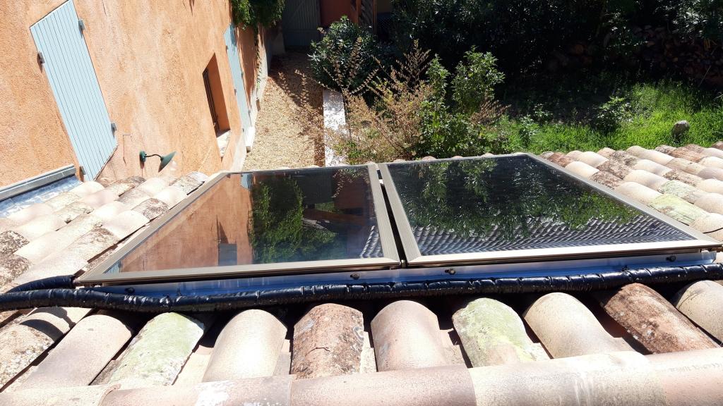 Installation d'un chauffe eau solaire thermique en appoint chaudière gaz en cascades