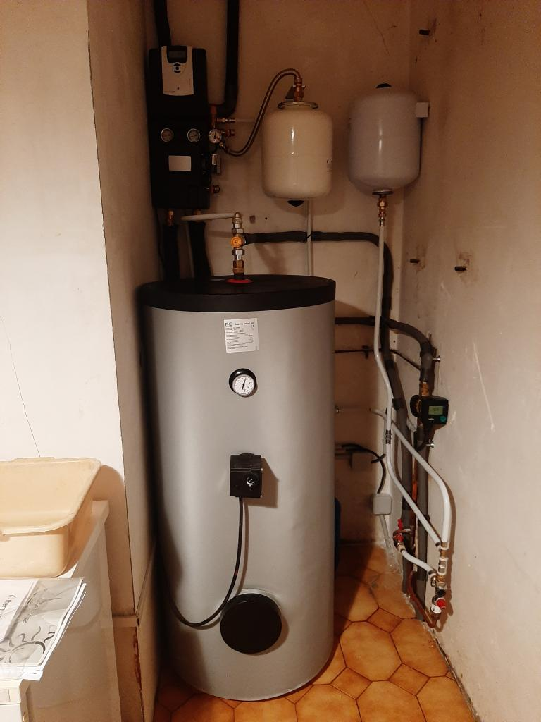 Maintenance sur chauffe eau solaire (CESI) GIORDANO