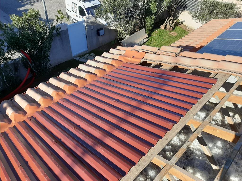 réfection d'une installations photovoltaïque 3,4 kwc défaillante-Bouches du Rhône (13)
