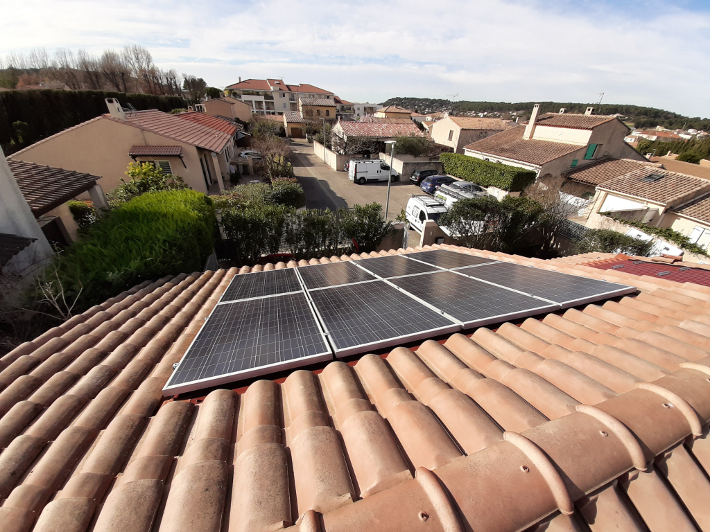 réfection d'une installations photovoltaïque 3,4 kwc défaillante