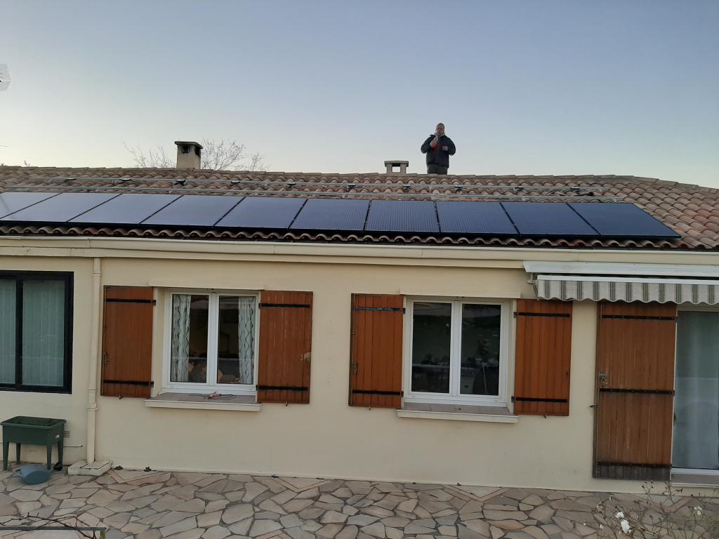 Réalisation d'une installation photovoltaïque en auto-consommation de 6 Kwc