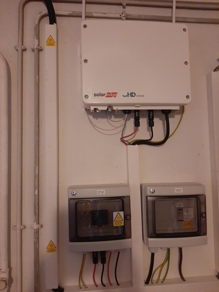 Réalisation d'une installation photovoltaïque en auto-consommation de 3 Kwc