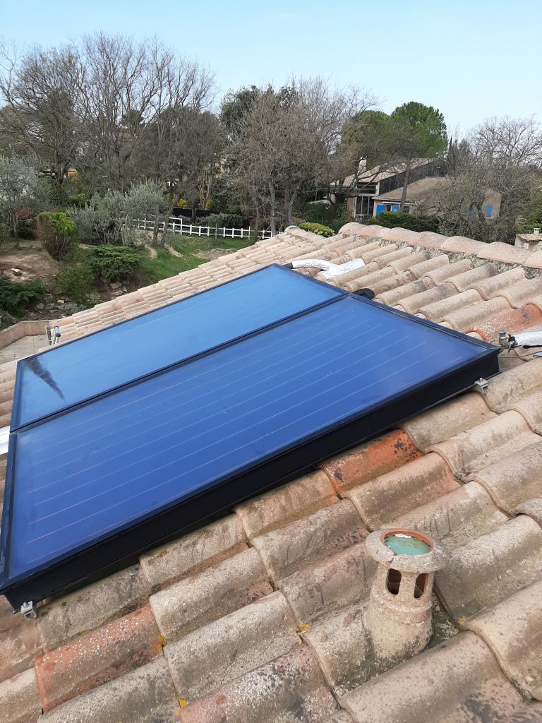 Maintenance sur chauffe eau solaire (CESI) WAGNER-Bouches du Rhône (13)