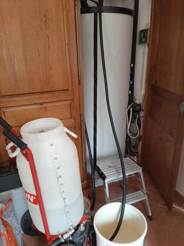 Maintenance sur chauffe eau solaire (CESI) WAGNER