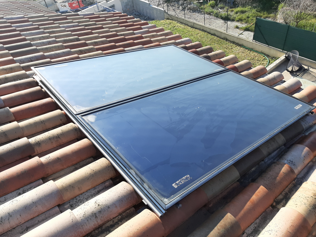 Maintenance sur chauffe eau solaire (CESI) ATLANTIC OPTIMUM
