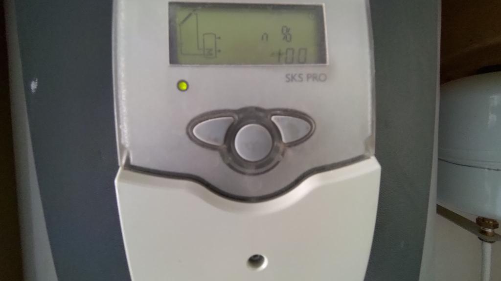 Maintenance sur chauffe eau solaire (CESI) SONNENKRAFT