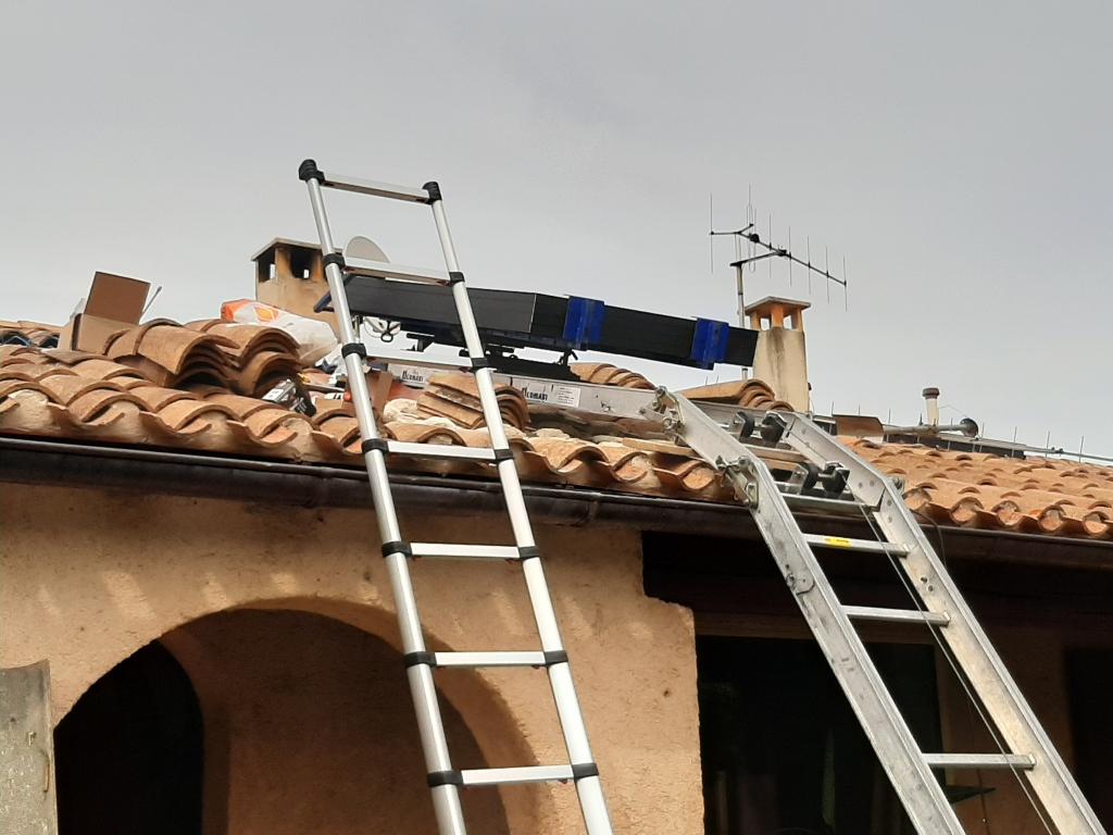 réfection d'une installations photovoltaïque 3kwc défaillante