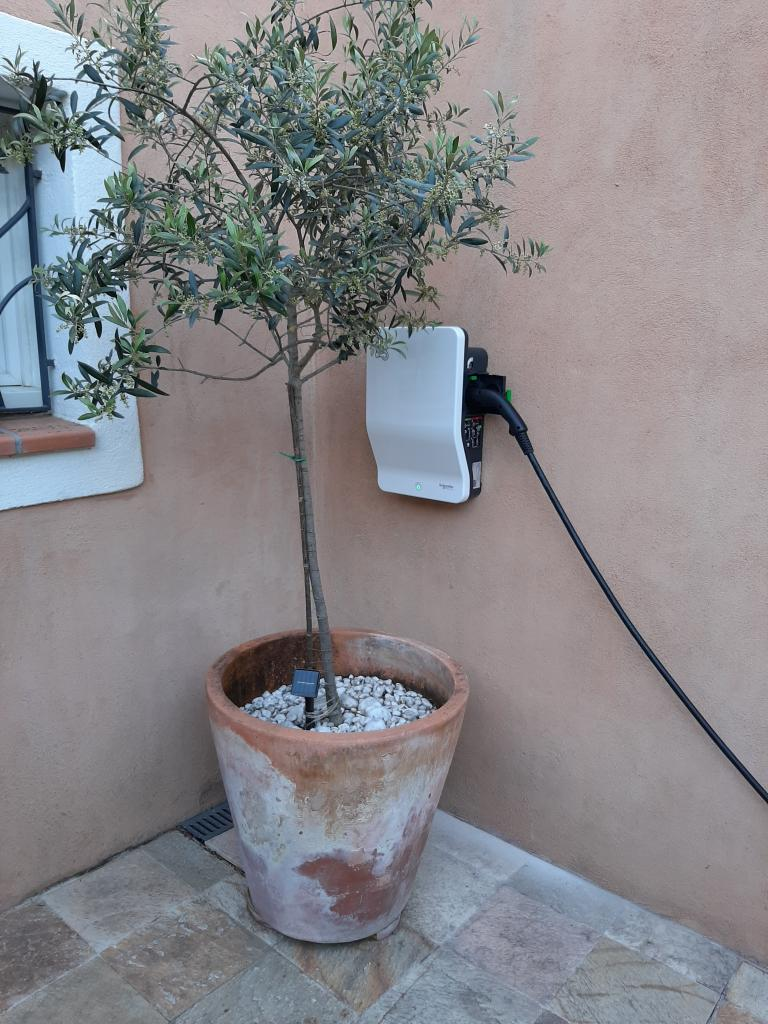 Installation d'une borne de recharge 7 kw pour Véhicule électrique