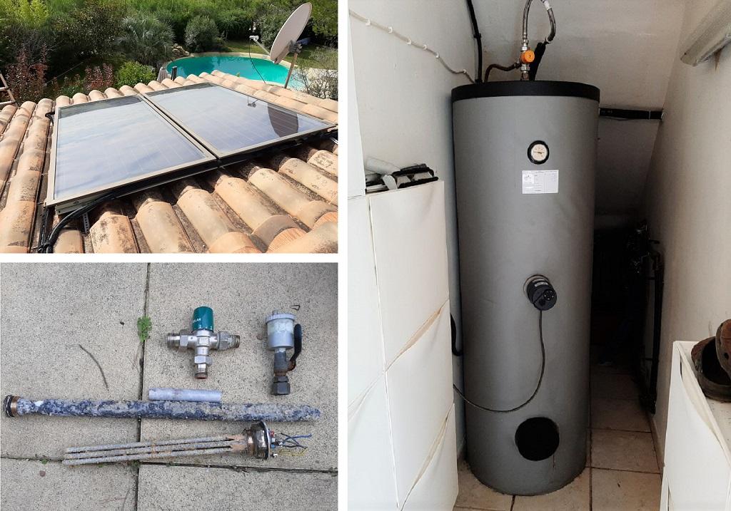 Maintenance sur chauffe eau solaire (CESI)