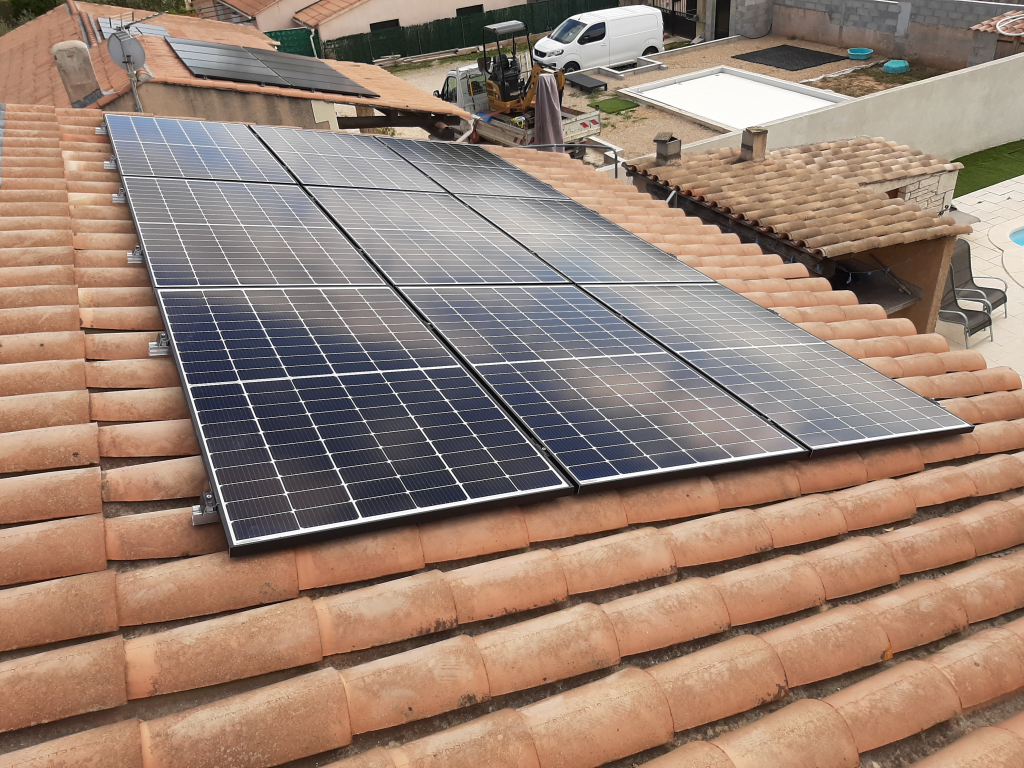 Réalisation d'une installation photovoltaïque en auto-consommation de 2.97 Kwc