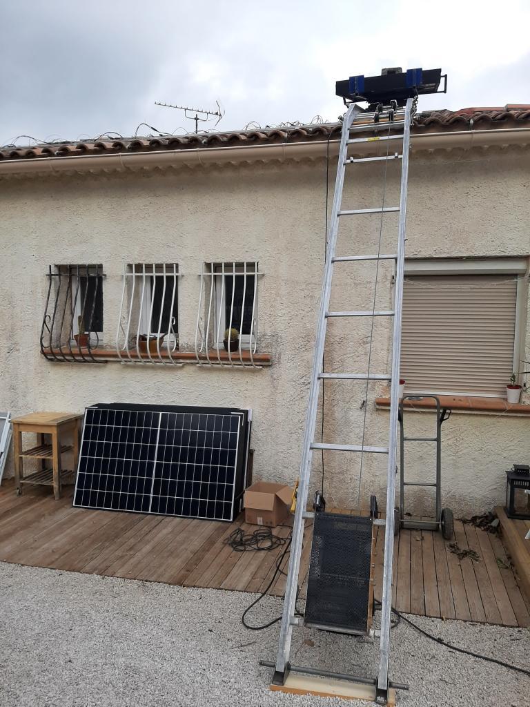 Réalisation d'une installation photovoltaïque en auto-consommation de 5.4 Kwc-Bouches du Rhône (13)
