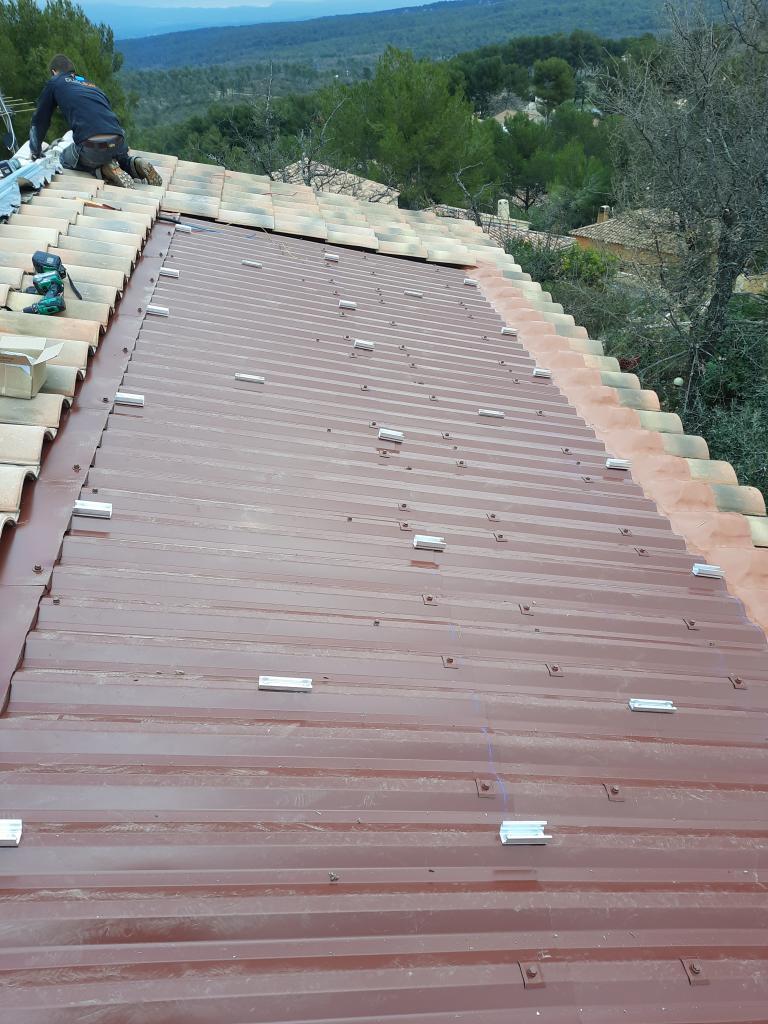 réfection d'une installations photovoltaïque 2.16kwc défaillante-Bouches du Rhône (13)