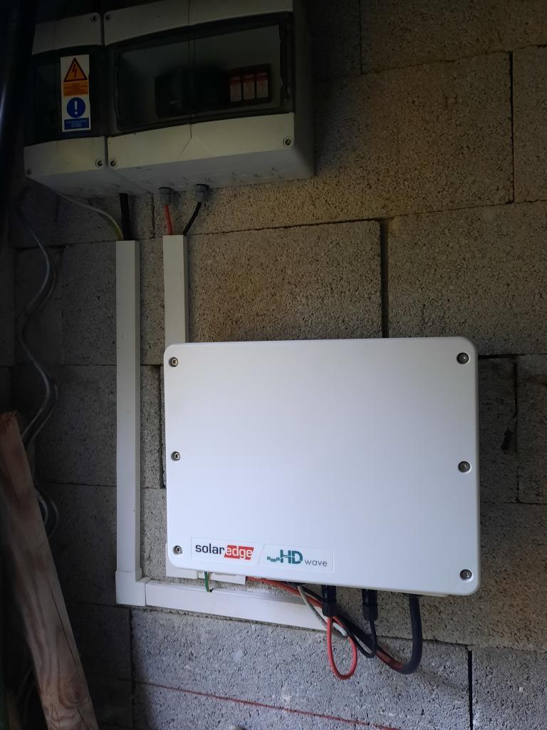 réfection d'une installations photovoltaïque 2.16kwc défaillante