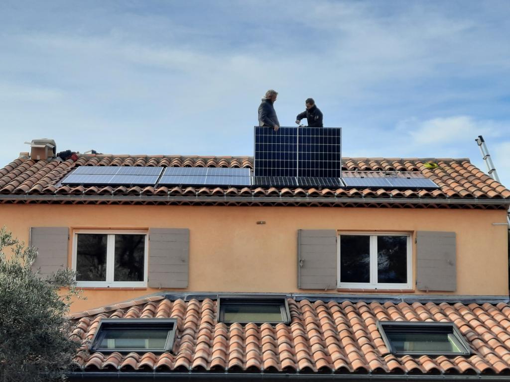 Reprise/SAV dépannage d'une installations photovoltaïque 2.7kwc défaillante