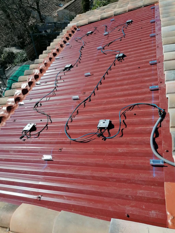 Reprise SAV dépannage d'une installation photovoltaïque 2160Wc-Bouches du Rhône (13)