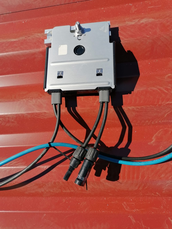 Reprise SAV dépannage d'une installation photovoltaïque 2160Wc