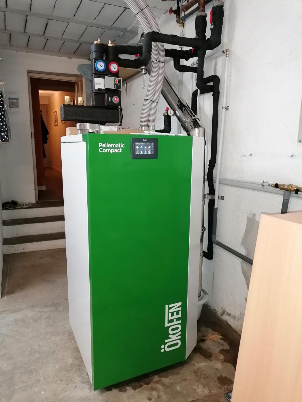 Installation d'une chaudière à granulés ÖkoFEN en remplacement d'une chaudière fioul-Bouches du Rhône (13)