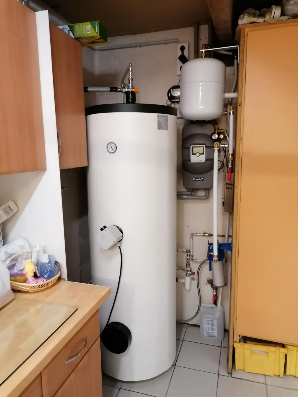 Installation chauffe-eau solaire hybride 3kWc en autoconsommation