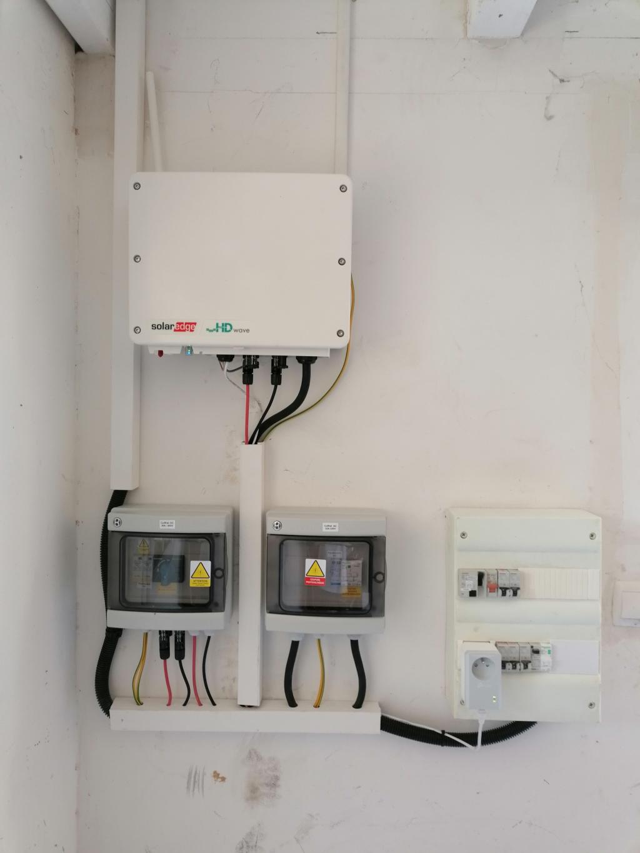 Installation photovoltaïque 5250Wc sur-imposée pour autoconsommation