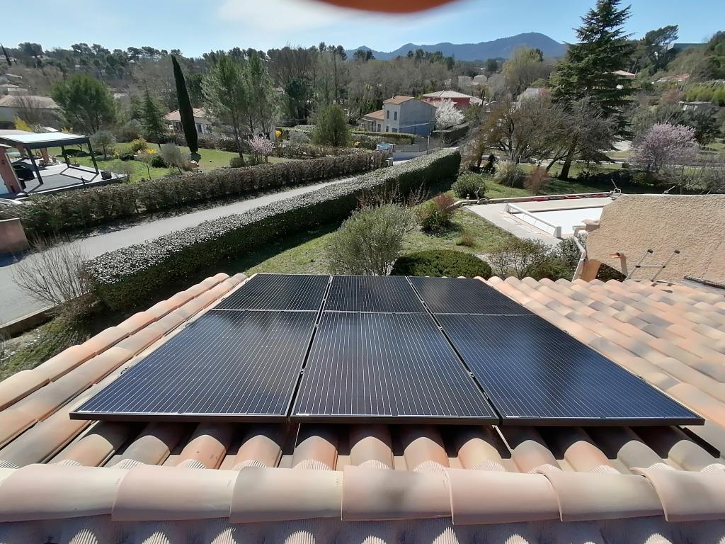 Installation photovoltaïque 3 kWc en autoconsommation vente de surplus