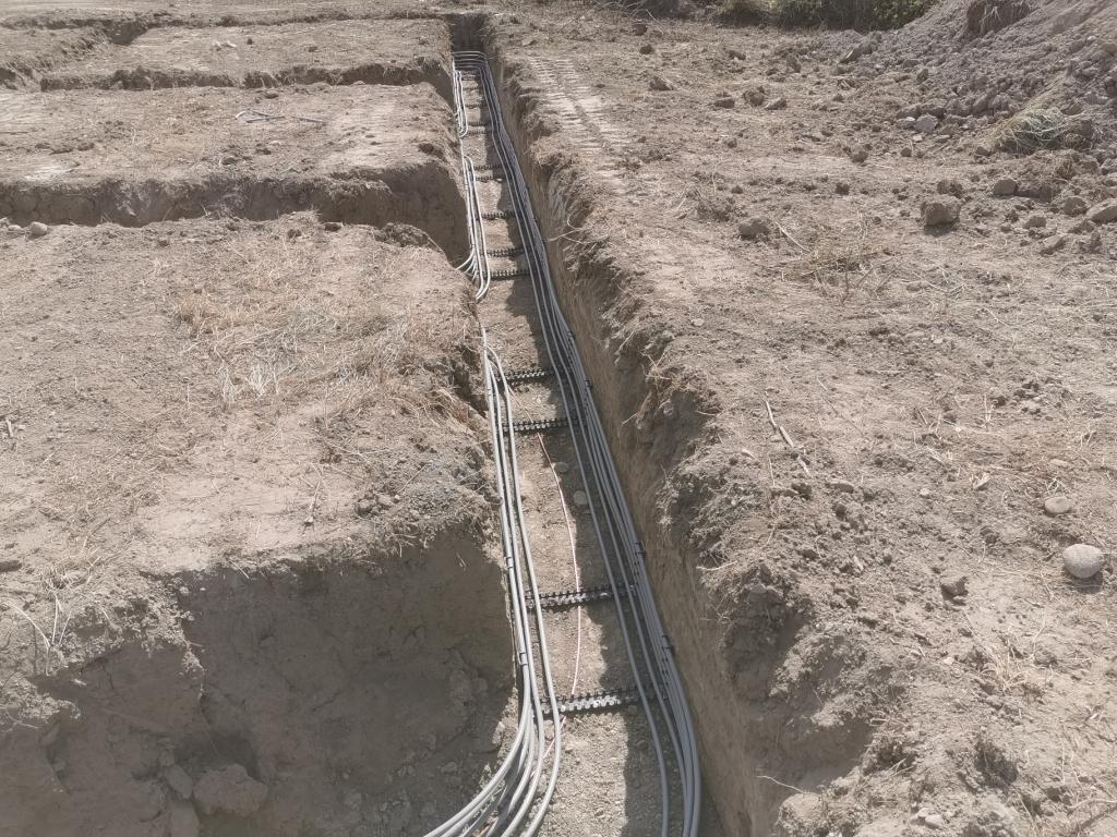 Installation d'un puits rafraichissant hydraulique géothermique Innovert-Vaucluse (84)