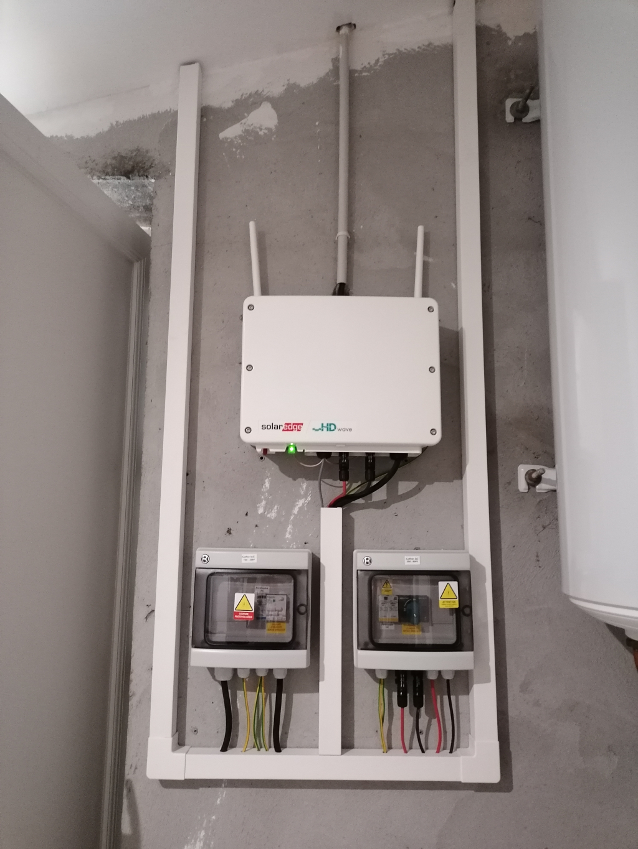 Installation photovoltaïque 3 kWc en autoconsommation + vente de surplus