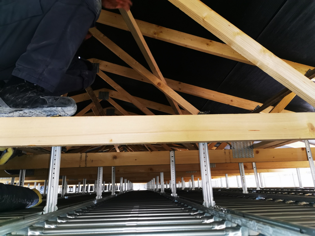 Installation d'u plafond rayonnant chauffant et rafraichissant Innovert-Vaucluse (84)