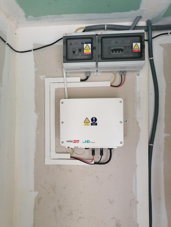 Réparation SAV d'une installation photovoltaïque déféctueuse