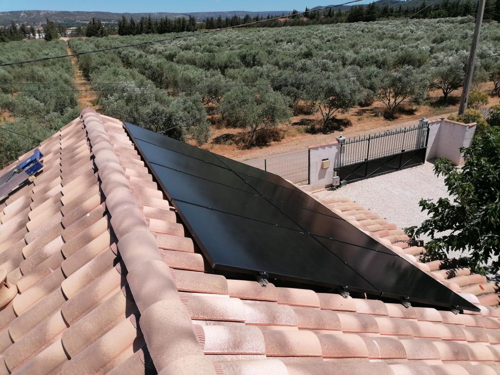 Installation photovoltaïque autoconsommation 3kWc-Bouches du Rhône (13)